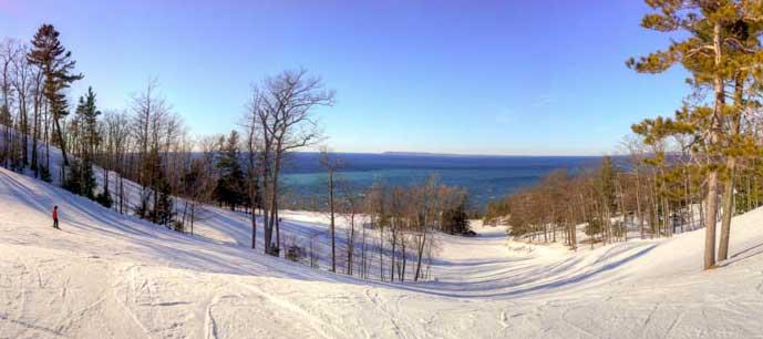 winter skihill