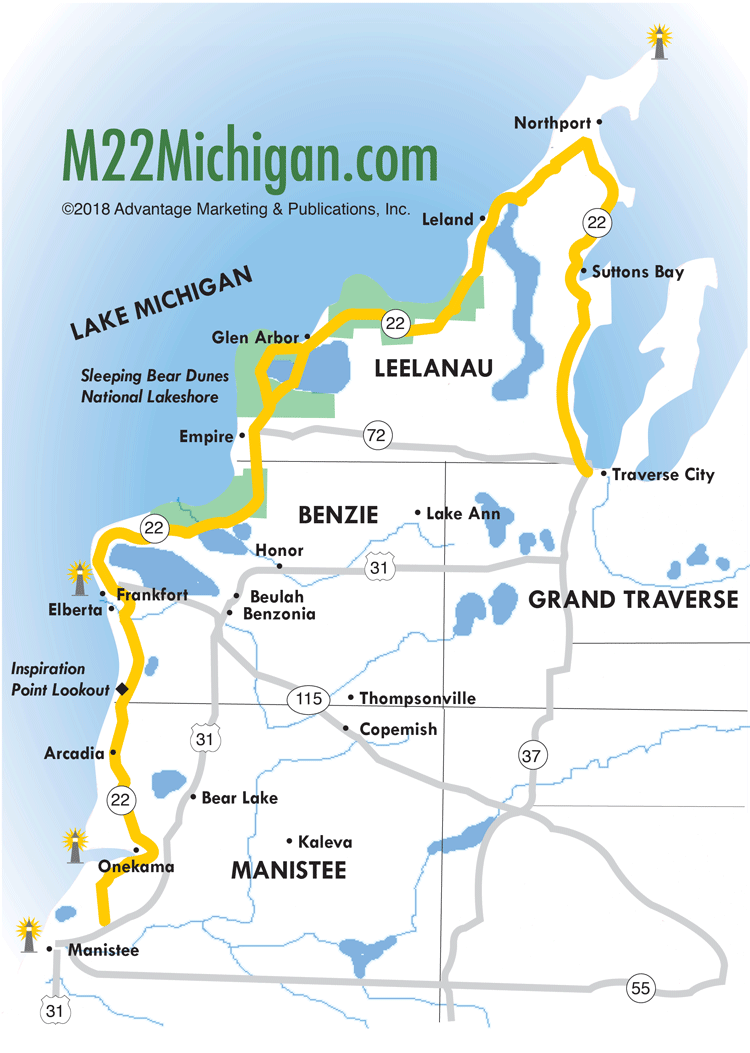 M22 Map