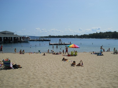 Visit Harbor Springs Michigan Beaches In Northern Michigan