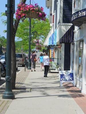 Downtown Charlevoix