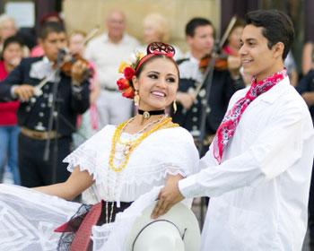 hispanic dancers