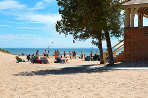 The Lake Michigan Beach House Will Be Open During Spring Summer And Fall Depending On Weather