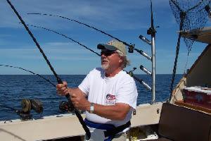 Manistee riverwalk charter fishing efishnsea doug for Manistee fishing charters