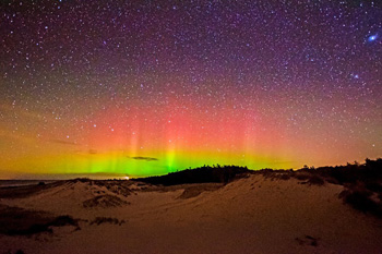 northern lights ludington michigan