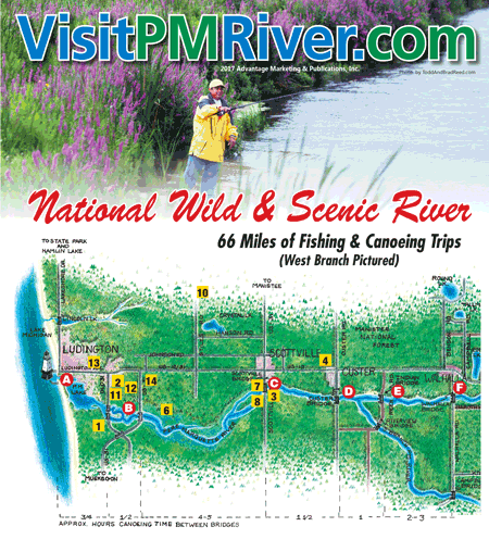 PM River West Map