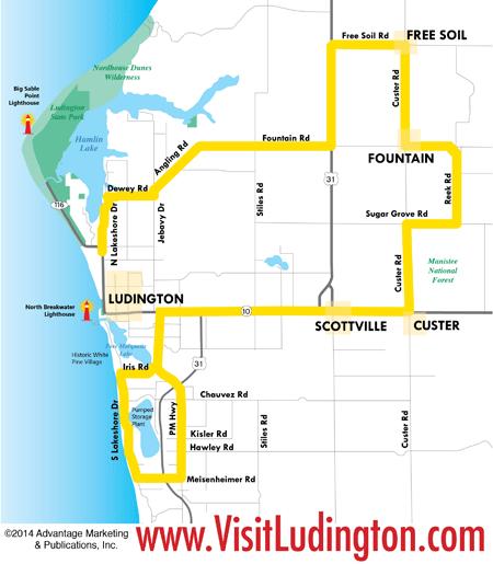 Mason Co Map