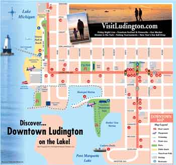 Downtown Ludington