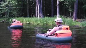 floating tube