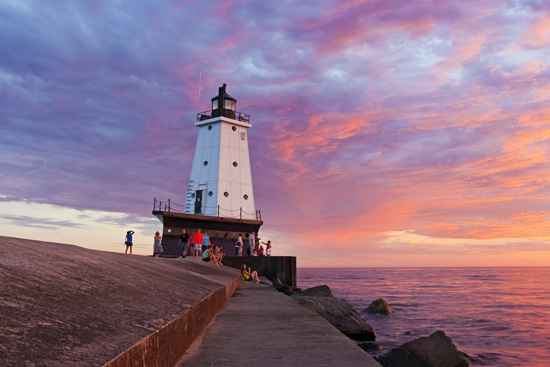 Ludington's North Breakwater Light