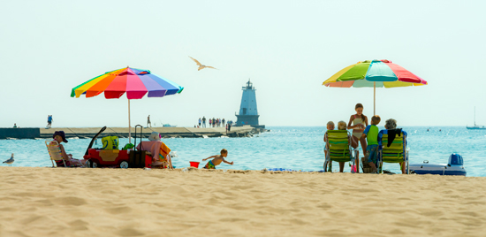 Ludington Beaches