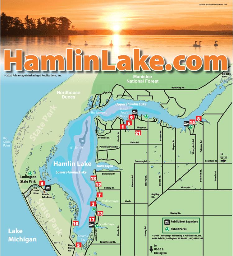 Hamlin Map