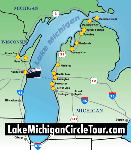 circletour region map