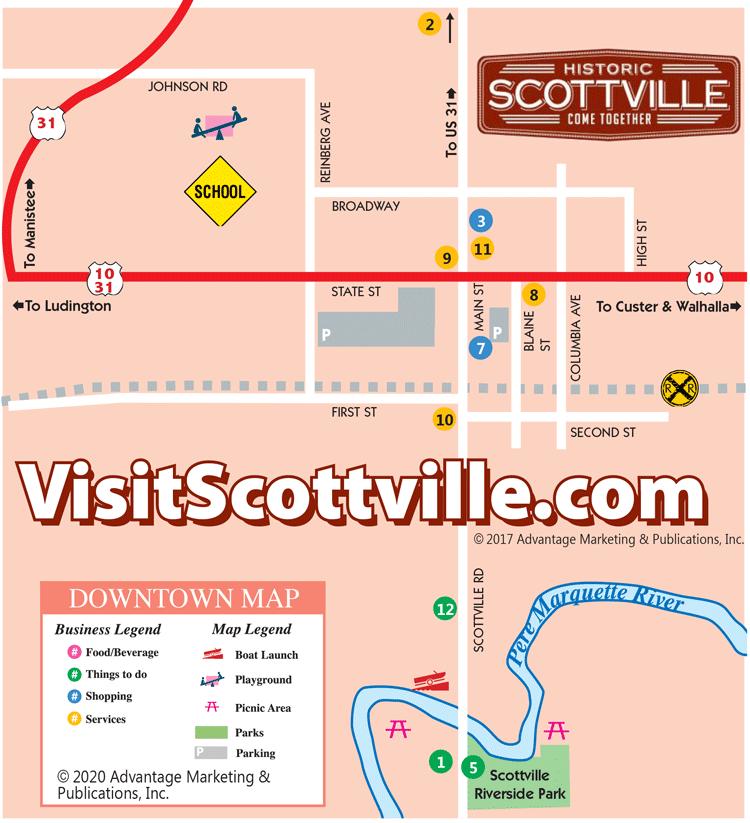 Scottville Map