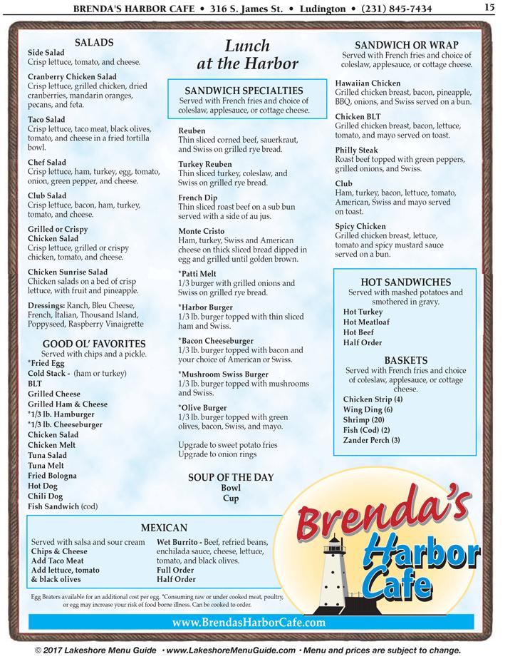 Brendas Harbor Cafe