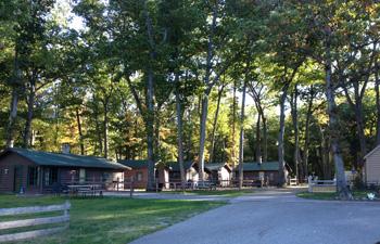 west michigan guides cabin fever round lake resort log