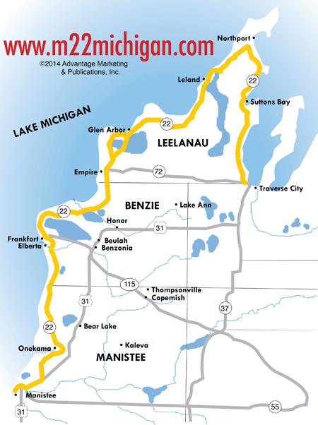 M22 Map