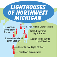 Northwest Michigan Map