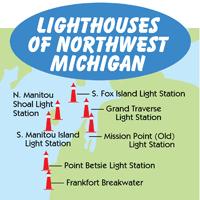 Northwest Michigan Map