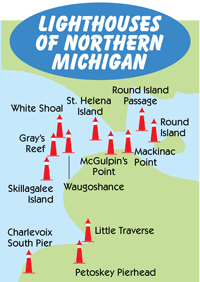 Northern Michigan Map