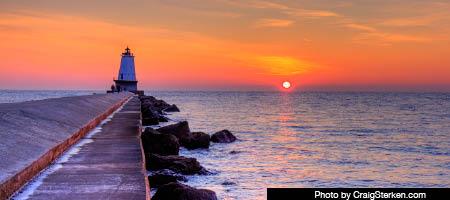 Lake Michigan Circle Tour - Lake Michigan Lighthouses