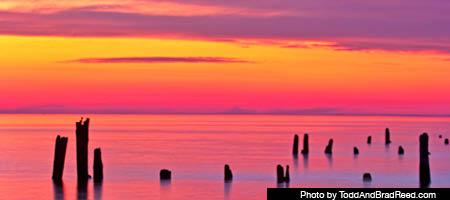 enjoy a west michigan sunset